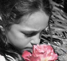 take time to stop and smell the roses by Camillam