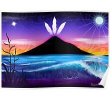 Taranaki te Maunga Poster