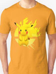 Super Smash Bros Pikachu 3ds/wii u T-Shirt