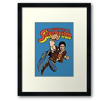 SuperHan  Framed Print