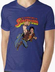 SuperHan  Mens V-Neck T-Shirt