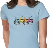 Vespa-Mania Teeshirt Womens Fitted T-Shirt
