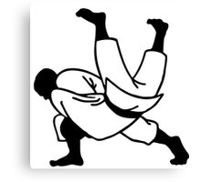 judo  ju jitsu Canvas Print