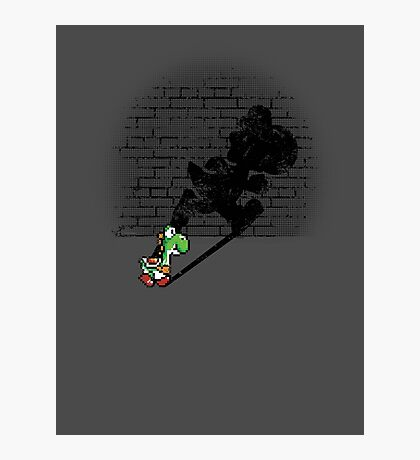 Becoming a Legend - Yoshi Photographic Print