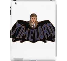 Timelord Doctor Who iPad Case/Skin