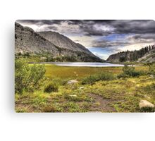 The Shores of Long Lake Canvas Print