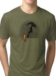 Becoming a Legend- Samus Aran Tri-blend T-Shirt