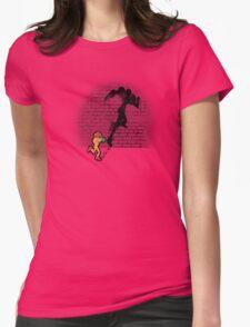 Becoming a Legend- Samus Aran Womens Fitted T-Shirt