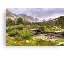 Crossing Ruby Creek Canvas Print