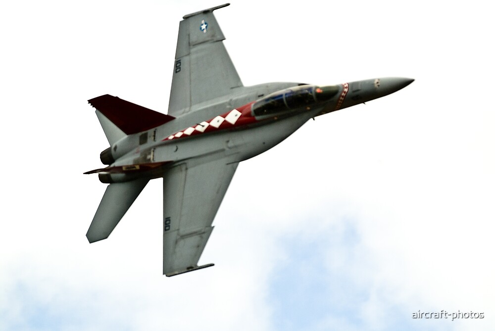 USN  FA-18  SUPER  HORNET   by aircraft-photos