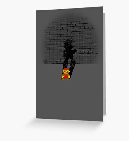 Becoming a Legend- Mario Greeting Card