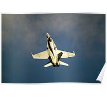 USN  FA-18  SUPER  HORNET   Poster