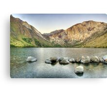 Waking Up at Convict Lake Canvas Print