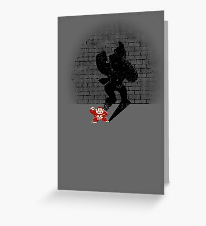 Becoming a Legend- Donkey Kong Greeting Card
