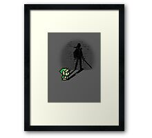 Becoming a Legend - Link Framed Print
