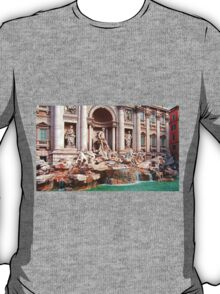 Trevi Fountain III T-Shirt