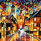 Night In The Old City — Buy Now Link - www.etsy.com/listing/127103428 by Leonid  Afremov
