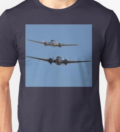 Lockheed Twins, Avalon Airshow, Australia 2013 Unisex T-Shirt