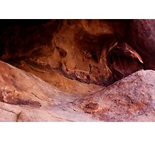 Petroglyphs and the Arch Photographic Print