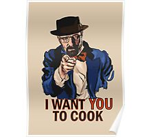 I want you to cook Poster