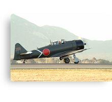 Mitsubishi  A6M  ZERO   Canvas Print