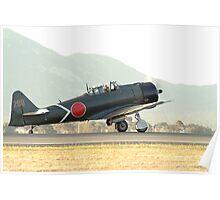 Mitsubishi  A6M  ZERO   Poster