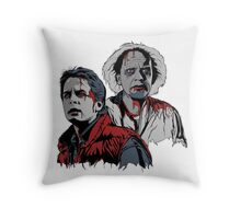 Back to the Dead Throw Pillow