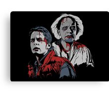 Back to the Dead Canvas Print