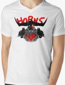 Bull's Chargers Mens V-Neck T-Shirt