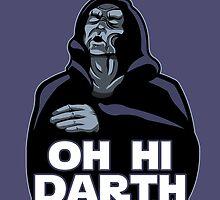 Oh hi Darth! by claygrahamart