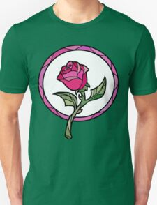Stained Glass Rose | Beauty and the Beast T-Shirt
