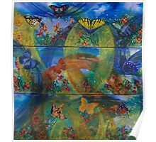 Whimsical Nature - Triptych Poster