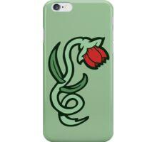 red flower tattoo iPhone Case/Skin