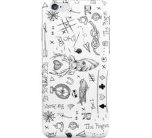 Louis Tomlinson Tattoos iPhone Case/Skin