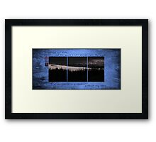 Record Low Tide Framed Print
