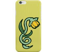 yellow flower tattoo iPhone Case/Skin