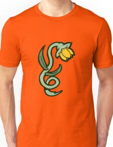 yellow flower tattoo Unisex T-Shirt