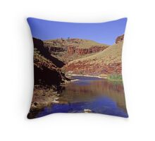 Horseshoe Gorge, Western Australia Throw Pillow