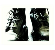 Dr Martins Boots Art Print