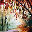 Bronze Autumn — Buy Now Link - www.etsy.com/listing/228586738 by Leonid  Afremov