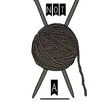 No Quitting, Just Knitting by DrFilloy