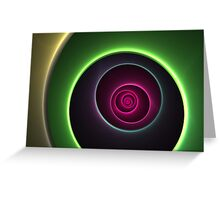 Circles Of Color Greeting Card