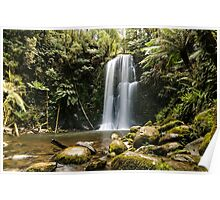 Beautiful Beauchamp Falls in the Otway National Park Poster