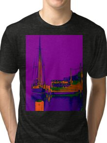 Docked At Woy Woy Tri-blend T-Shirt