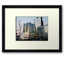 High Line View, Frank Gehry Building, New York Framed Print