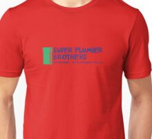 Super Plumber Brothers Unisex T-Shirt