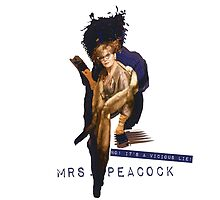Mrs Peacock  by MediocrePastime