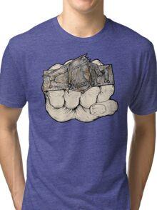 Fist of Fury Tri-blend T-Shirt