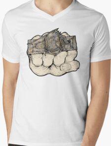 Fist of Fury Mens V-Neck T-Shirt