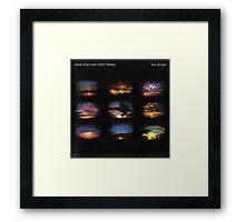John Foxx - Torn Sunset Framed Print